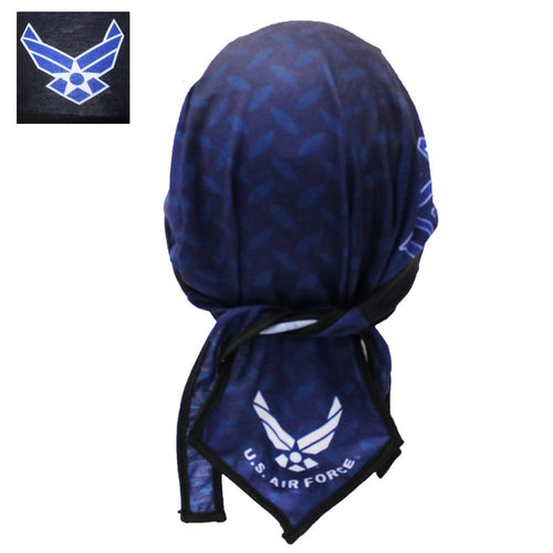 Diamond Plate Style U.S. AIR FORCE Headwrap