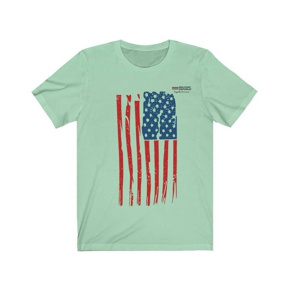 Distressed USA Flag Unisex T-shirt