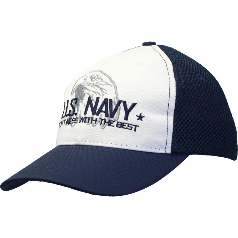 Don't Mess with the Best - U.S NAVY Digital Mesh Cap-Military Republic