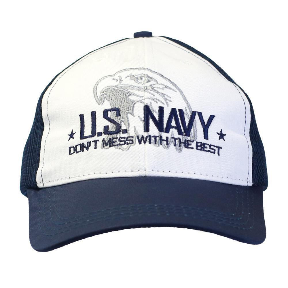 4b7115504fd Don t Mess with the Best - U.S NAVY Digital Mesh Cap-Military Republic.  Product image 1 ...