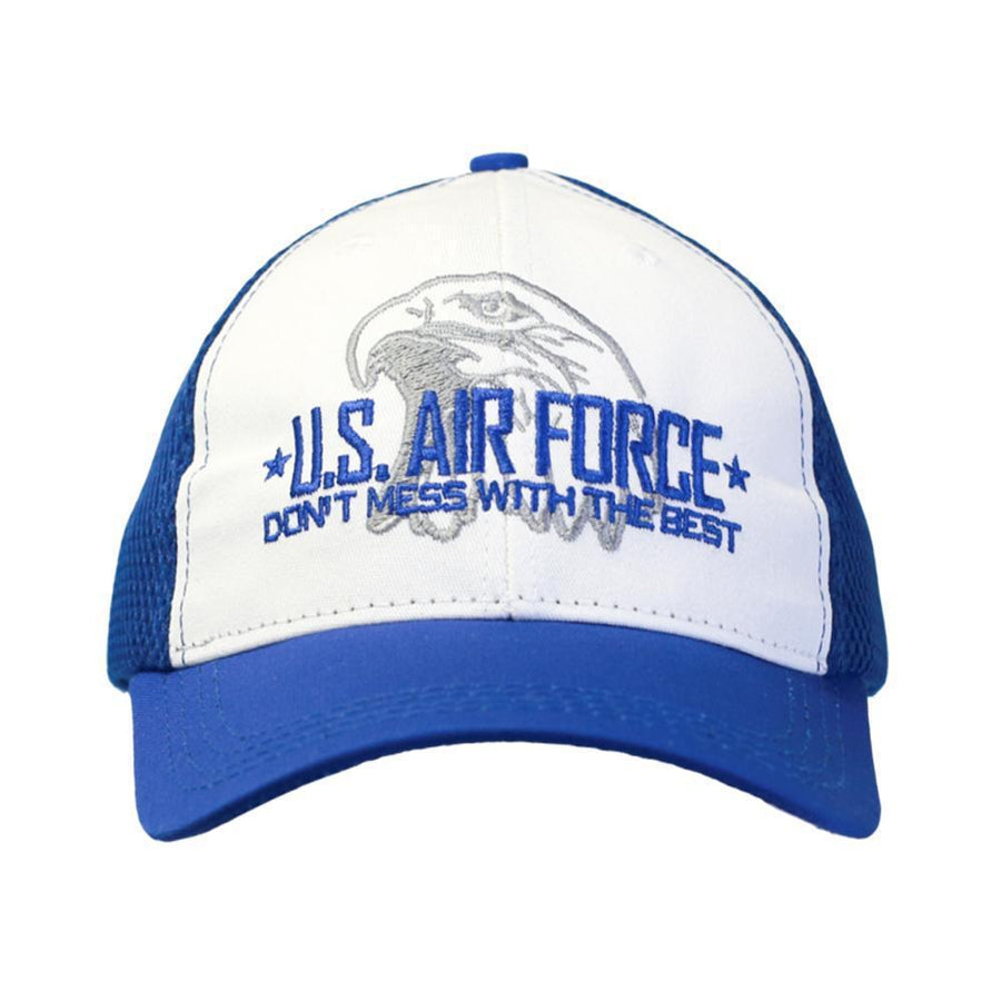 Don't Mess with the Best - USAF Digital Mesh Cap-Military Republic