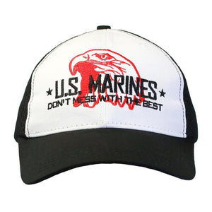 Don't Mess with the Best - USMC Digital Mesh Cap-Military Republic