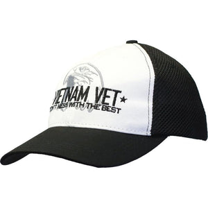 Don't Mess with the Best - Vietnam Vet Digital Mesh Cap-Military Republic