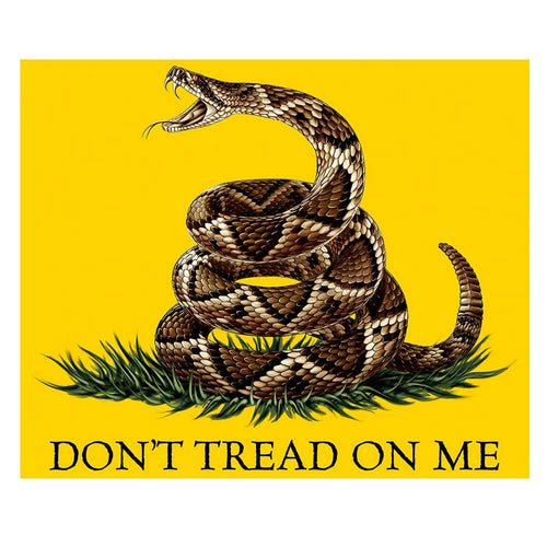 Don't Tread On Me Blanket-Military Republic