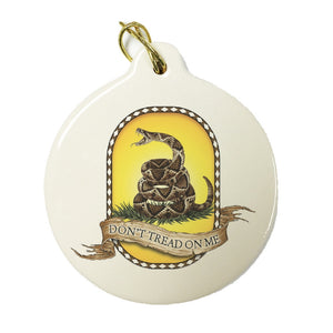 Don't Tread On Me Christmas Ornament-Military Republic