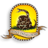 Don't Tread On Me Decal-Military Republic