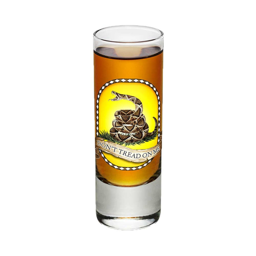Don't Tread On Me Shot Glasses-Military Republic