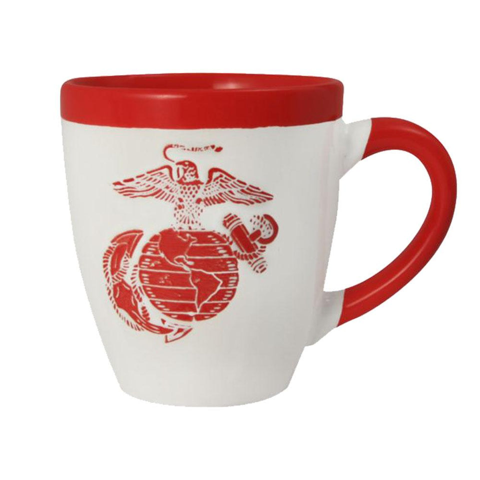 Marines EGA Logo 16 oz  2-Color Mug
