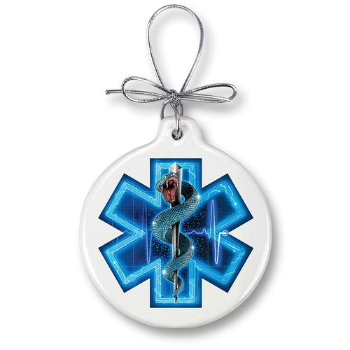 Emergency Medical Services Christmas Ornament
