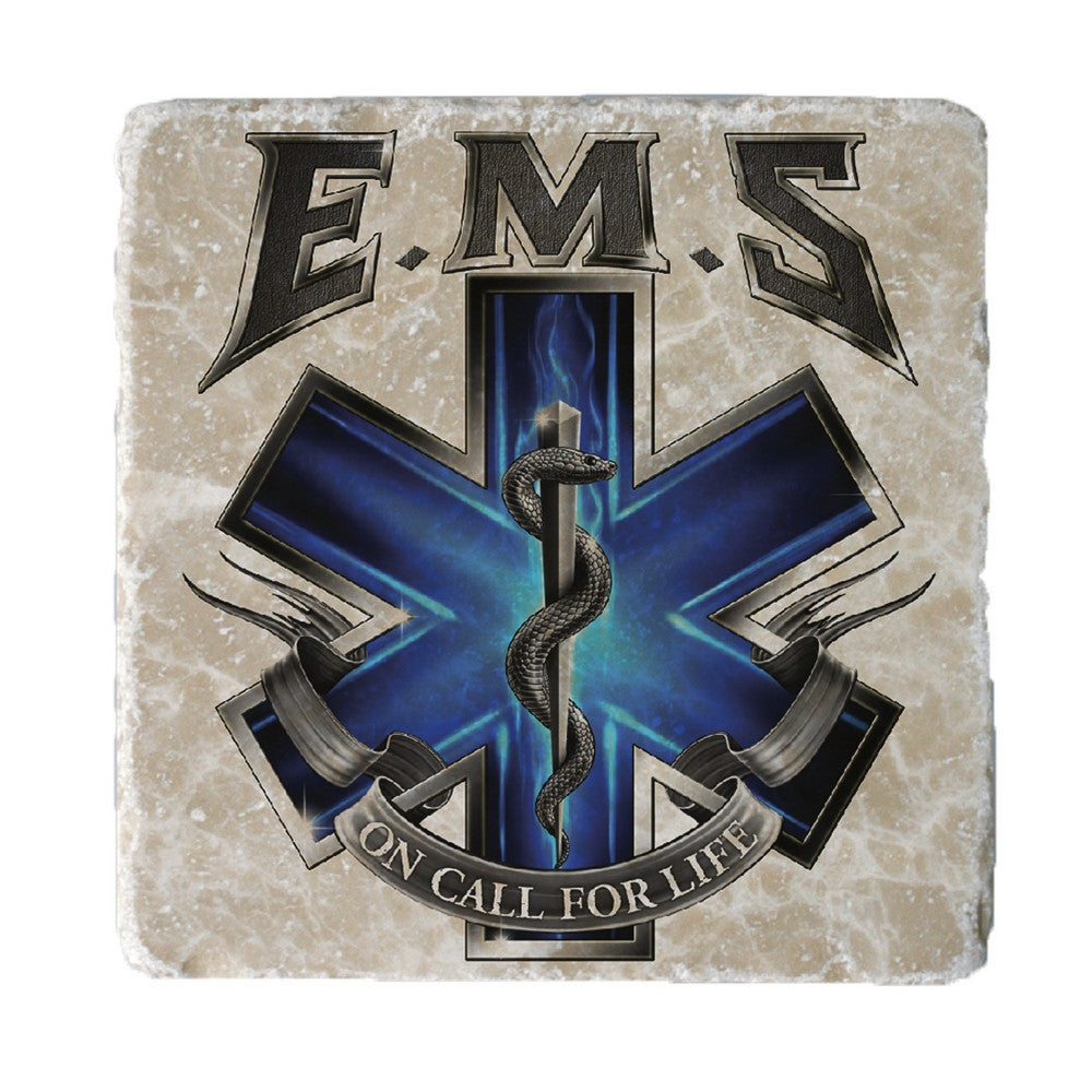 EMS On Call For Life Coaster-Military Republic