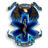 EMS True Heroes Decal-Military Republic