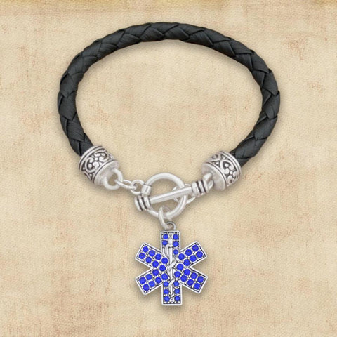 EMT Leather Bracelet-Military Republic
