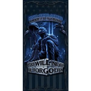 Fallen Heroes Blanket-Military Republic
