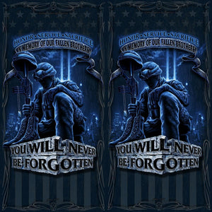 Fallen Heroes Towel-Military Republic