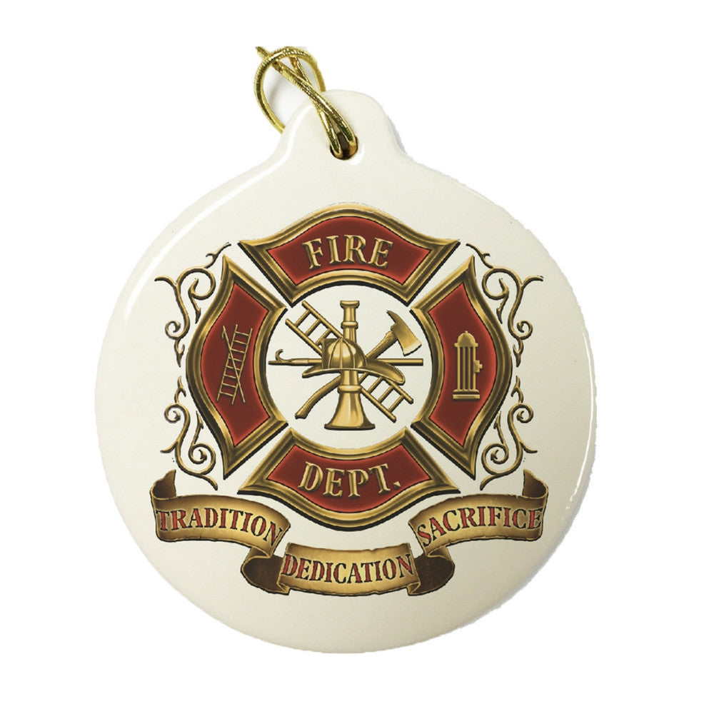 Fire Department Christmas Ornament-Military Republic