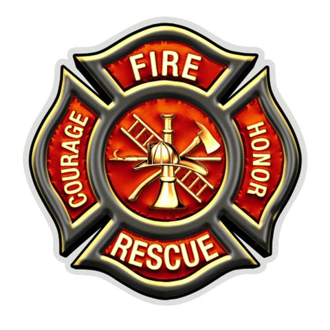 Fire Rescue Classic Decal-Military Republic