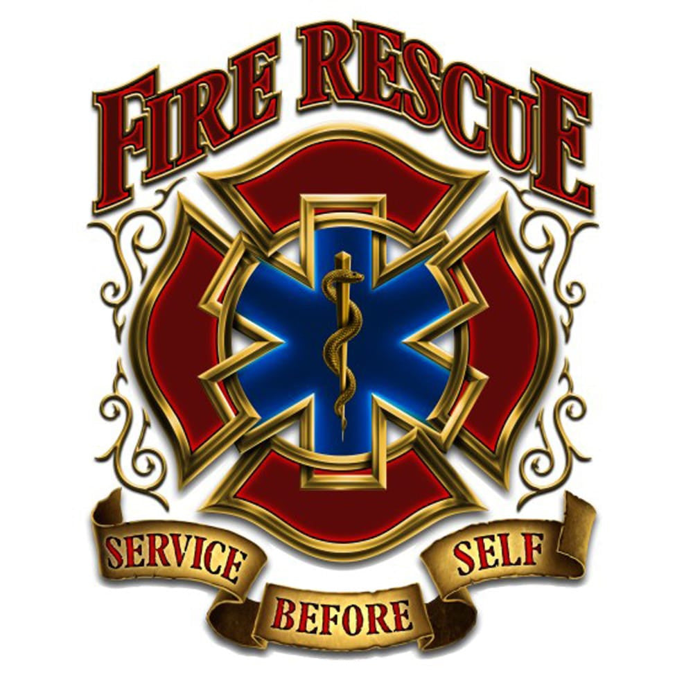Fire Rescue Service Before Self Decal-Claris Deals