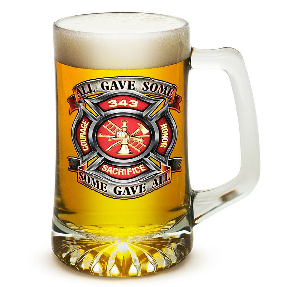 Firefighter 343 All Gave Some Tankard-Military Republic