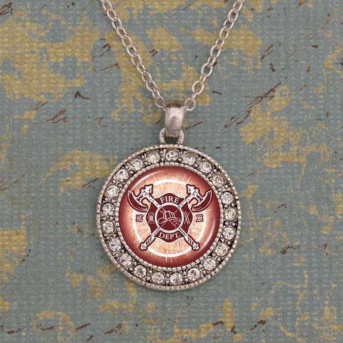 Firefighter Artisan Necklace-Military Republic