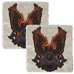 Firefighter Eagle Coaster-Military Republic