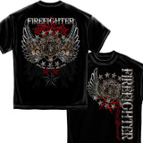 Firefighter Elite Breed Pride Duty Honor T Shirt-Military Republic
