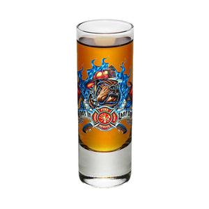 Firefighter First In Last Out Shot Glasses-Military Republic