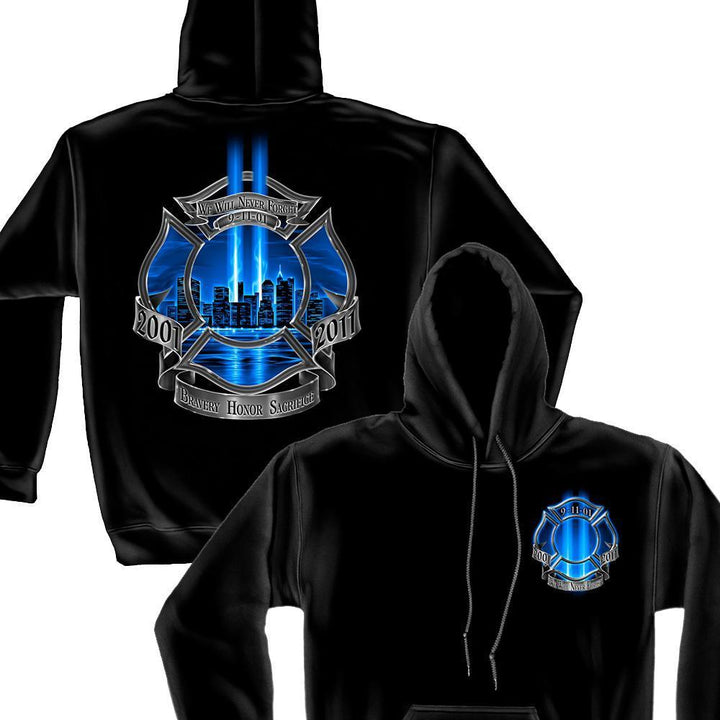 Firefighter High Honor Hoodie-Military Republic