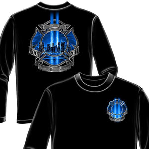 Firefighter High Honor Long Sleeve Shirt-Military Republic