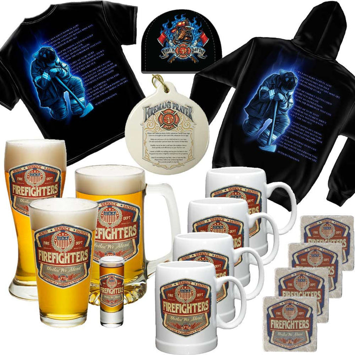 Firefighter Nut Extreme Holiday Gift Set-Military Republic