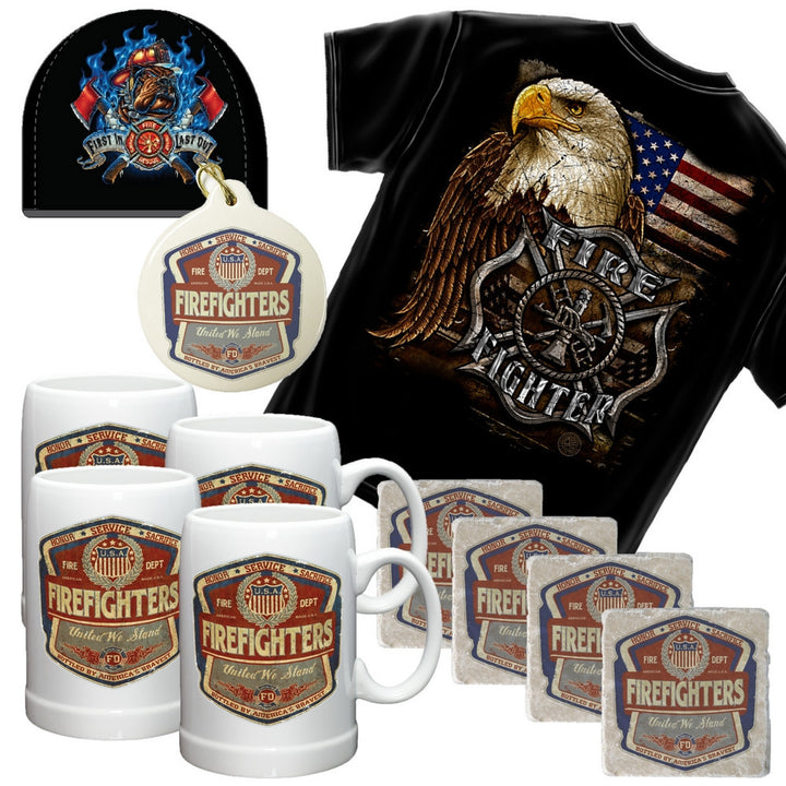Firefighter Nut Holiday Gift Set-Military Republic