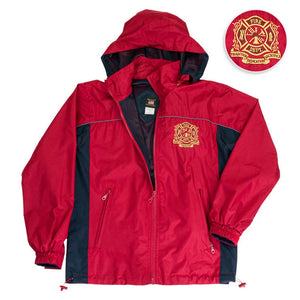 Firefighter Windbreaker Jacket-Military Republic