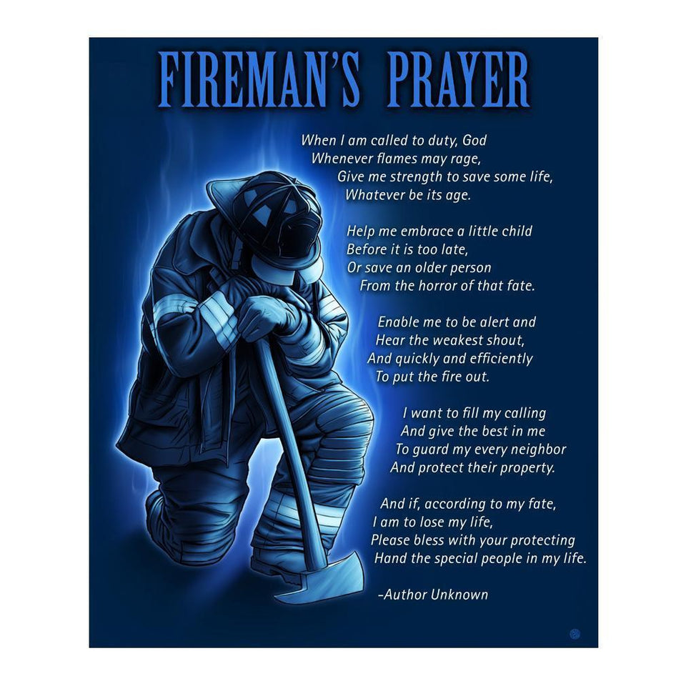 Fireman's Prayer Blanket-Military Republic