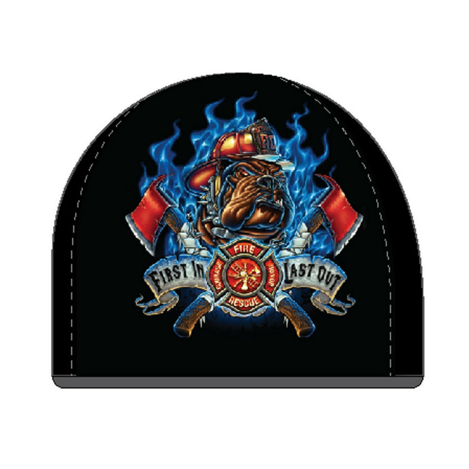 First In Last Out Firefighter Beanie-Military Republic