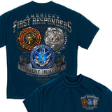 First Responder T Shirt-Military Republic