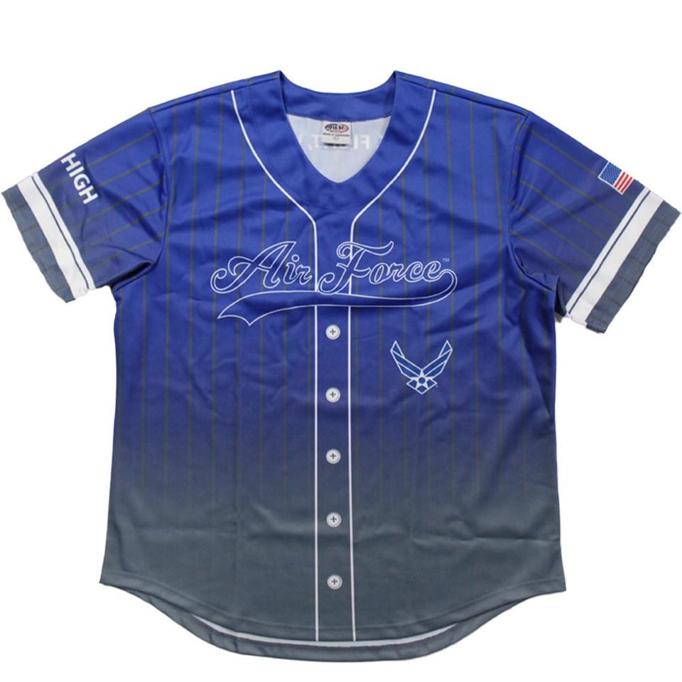 Full sublimation U.S. Air Force Baseball Jersey
