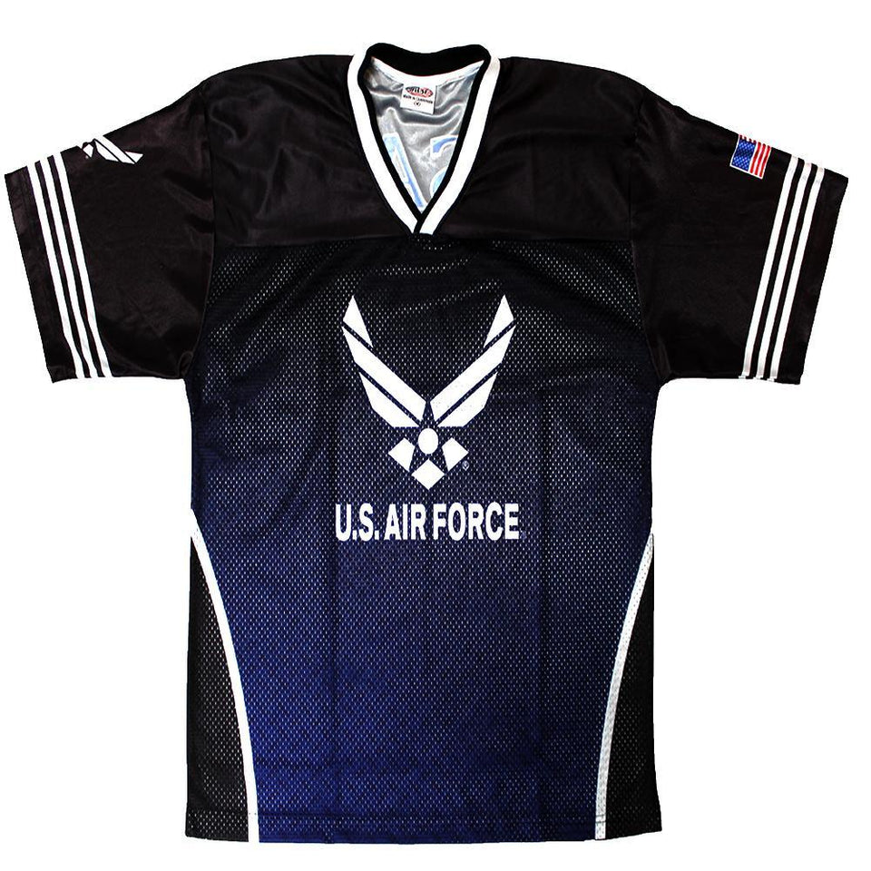 Full-Sublimation Air Force Football Jersey-Military Republic