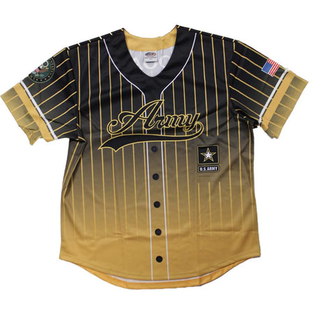 Full sublimation Army Baseball Jersey
