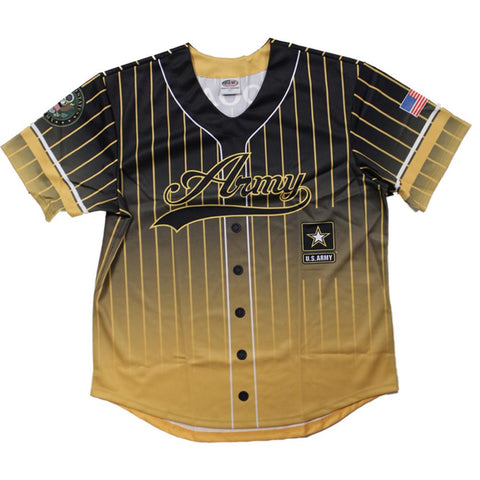 Full sublimation U.S. Army Baseball Jersey