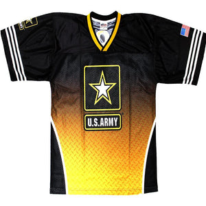 Full-Sublimation Army Football Jersey-Military Republic