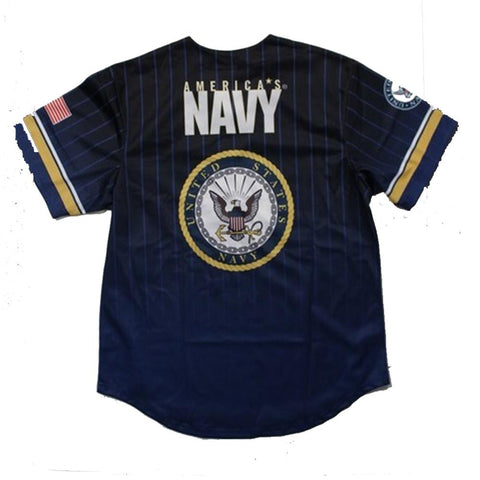 Full sublimation U.S. Navy Baseball Jersey