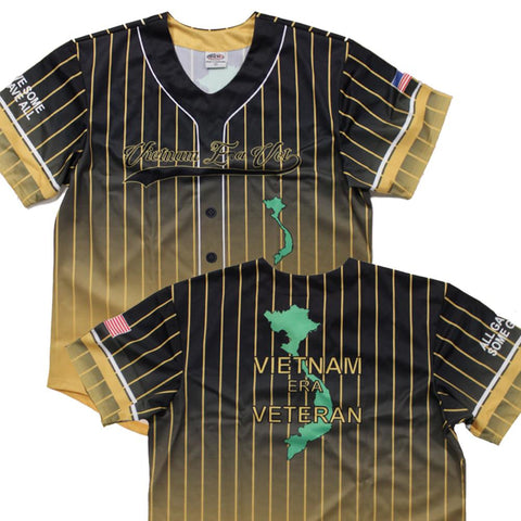 Full sublimation Vietnam Veteran  Baseball Jersey