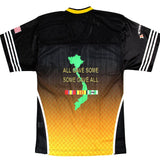 Full-Sublimation Vietnam Veteran Football Jersey-Military Republic