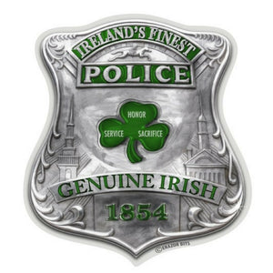Genuine Irish Police Decal-Military Republic