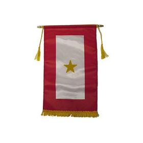 Gold Star Service Banner-Military Republic