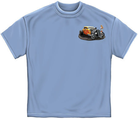 Good To Be Blown Hot Rods T-Shirt-Military Republic