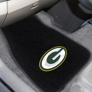 Green Bay Packers Embroidered Car Mats-Military Republic