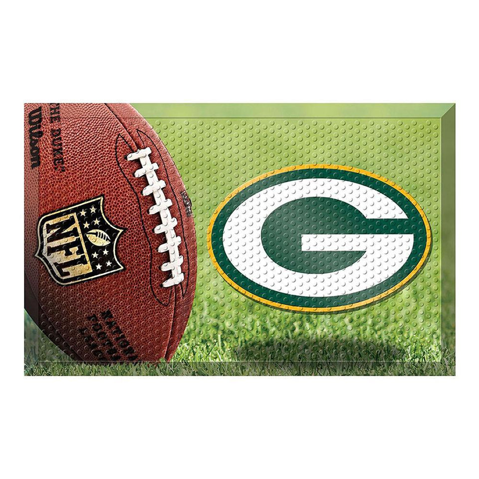 Green Bay Packers Football Doormat-Military Republic