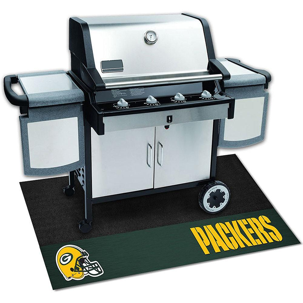 Green Bay Packers Grill Mat-Military Republic