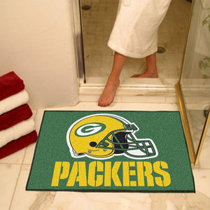 Green Bay Packers Large Floor Mat-Military Republic