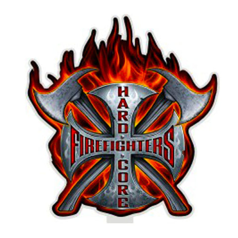 Hardcore Firefighter Decal-Military Republic